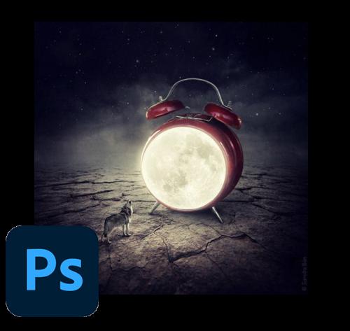 Photoshop portada y logo